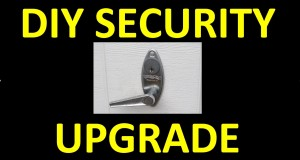 DIY: Manual Garage Door Security Upgrade!  Cheap Trick – Quick Fix