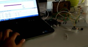 Home Security System Using Intel Edison Glowing LED and Buzzing ALARM(And Controlling Remotely)