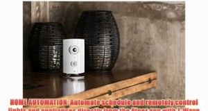 Piper HD Security Camera with 2 Smart Switches Video Monitoring WiFi Surveillance System and