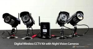 Digital Wireless CCTV Kit with 10 Metre Night Vision