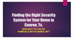 Locating The Right Home Security Devices