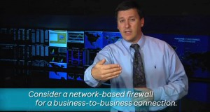 Use Network-Based Firewalls for B2B Connections – An AT&T Security Tip