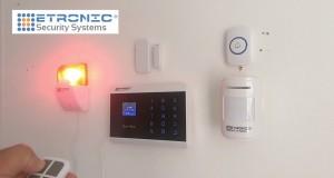 Wireless Home Office Burglar robbery emergency Alarm System with Smartphone App LED